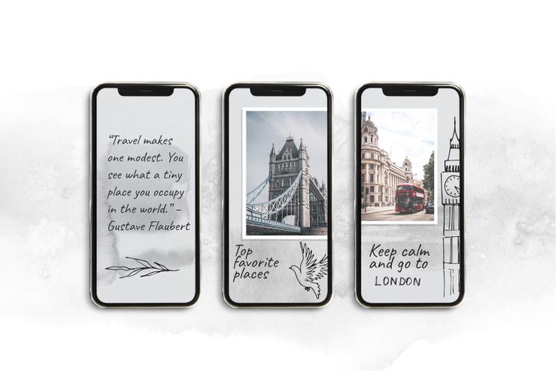 puzzle-instagram-template-london-travel-blog