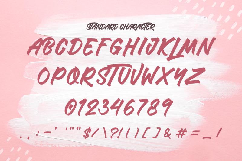 miracle-lathusia-brush-font