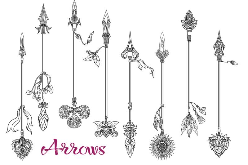 set-of-decorative-arrows