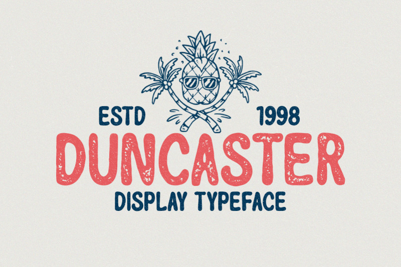 duncaster-display-typeface