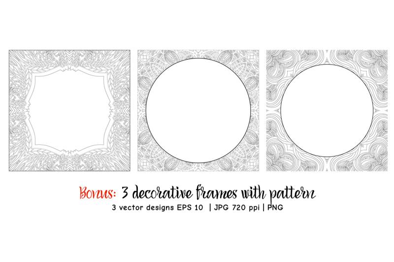 set-of-10-decorative-patterned-birds