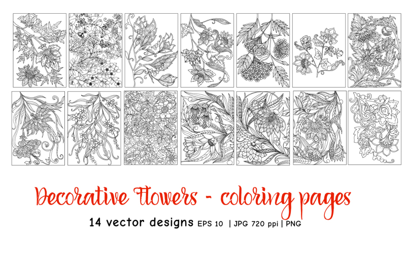 decorative-flowers-coloring-pages