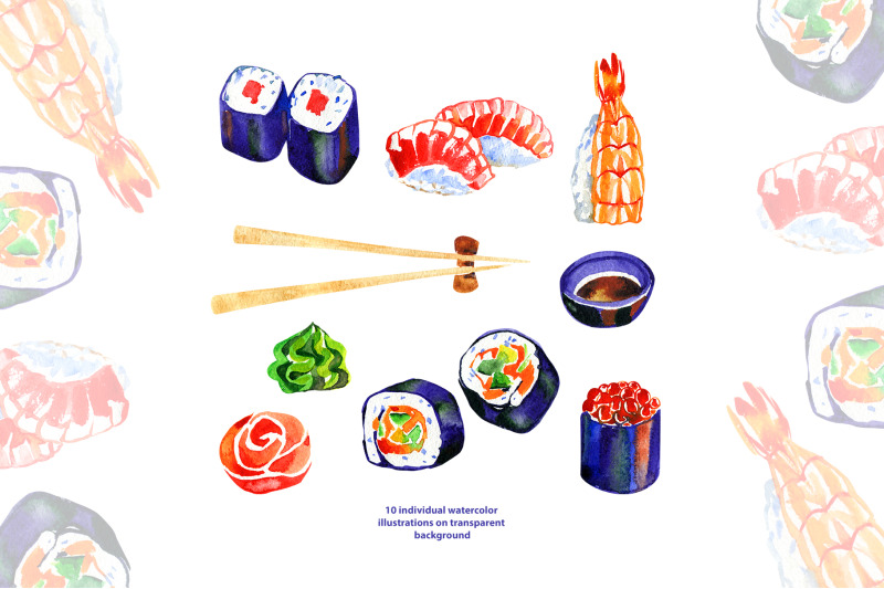 watercolor-sushi-png-clipart