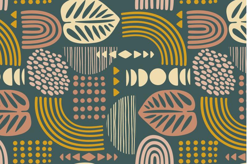 tropical-boho-8-seamless-patterns
