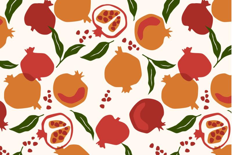 fruit-6-seamless-patterns