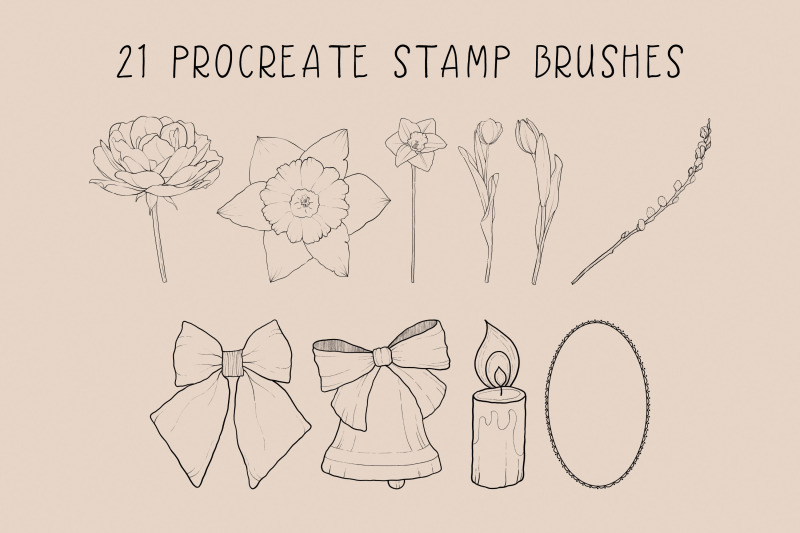 easter-procreate-stamp-brushes