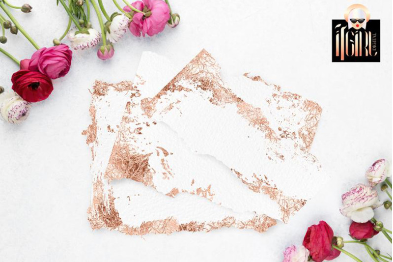 deckled-paper-with-rose-gold-edge