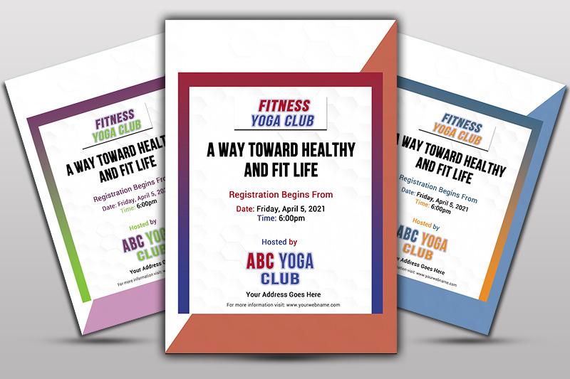 yoga-club-flayer