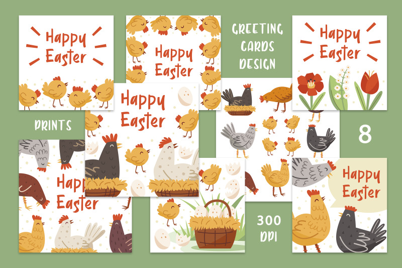 easter-chicks-digital-cliparts-greeting-cards-invitations