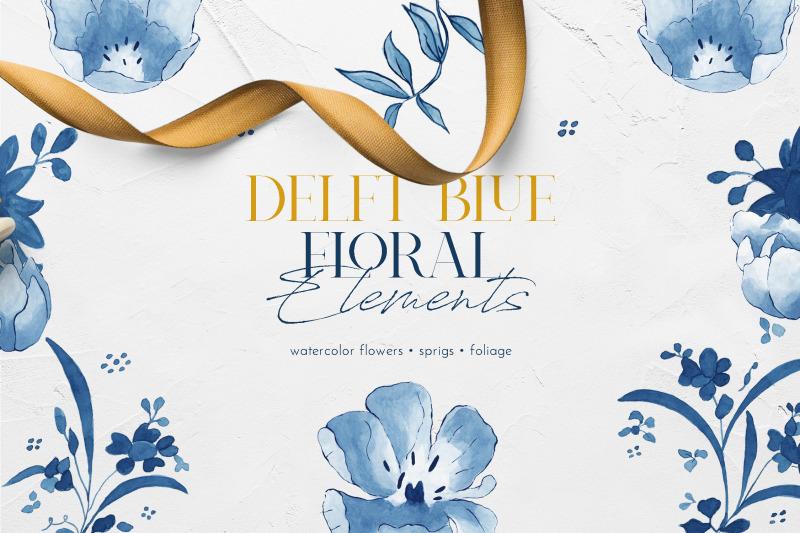 delft-blue-floral-illustration-pack