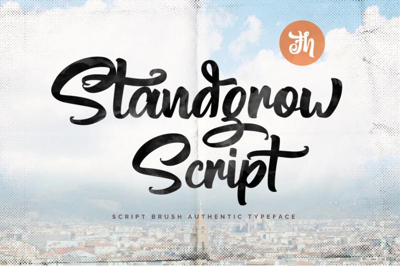 standgrow-script-font
