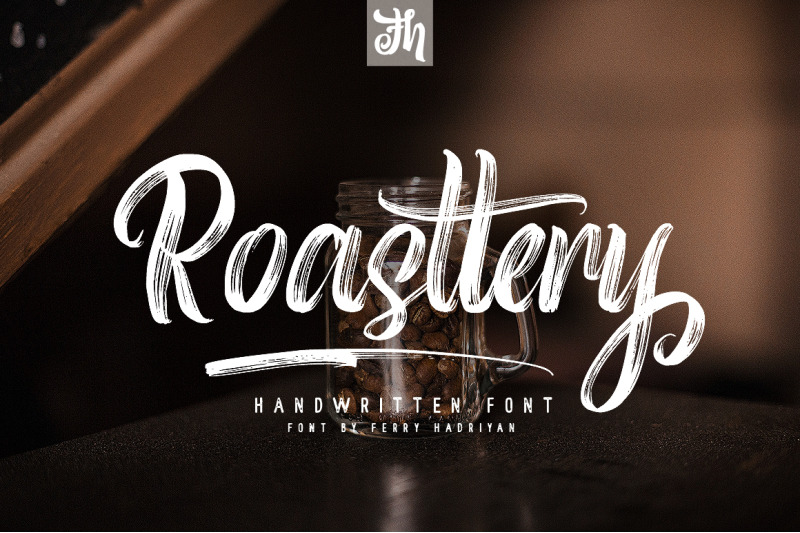 roasttery-handwritten-font