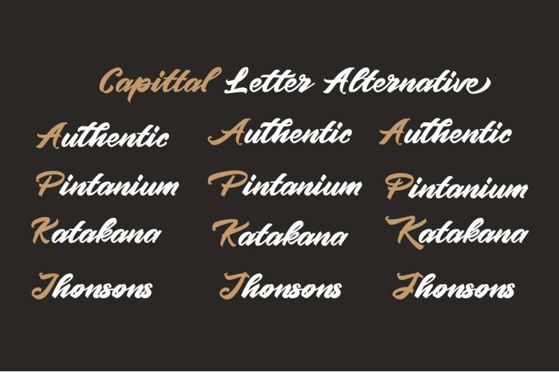 pintenium-script-font