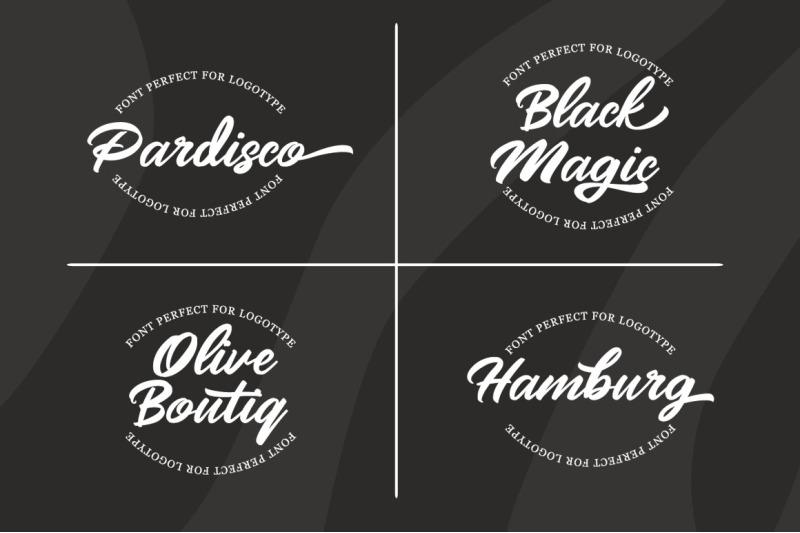 mangotea-script-font