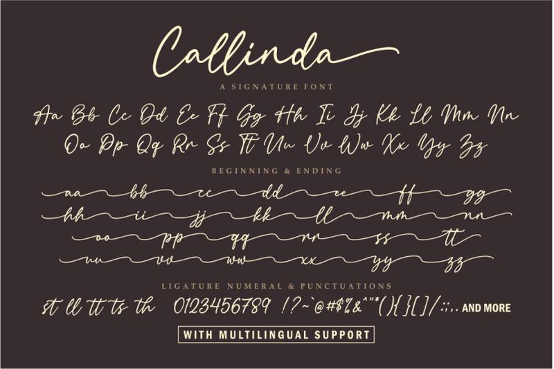 callinda-a-signature-font