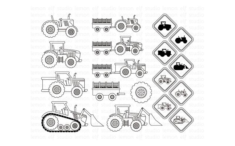 green-tractors-digital-stamp-les-ds19