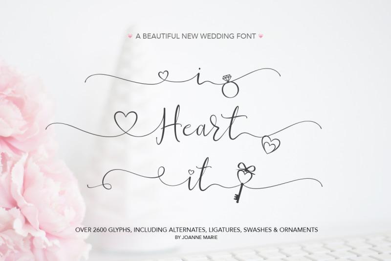 the-heart-swash-font-bundle