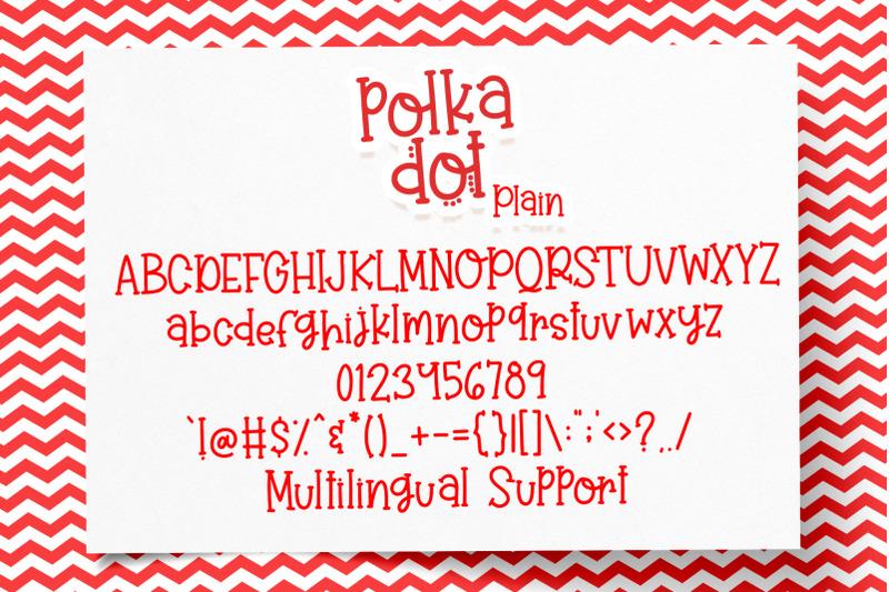 polka-dot-font-duo