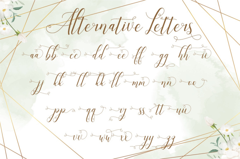 laniesky-calligraphy-font