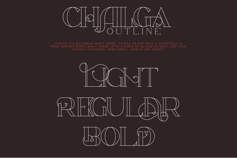 chalga-outline-serif-typeface