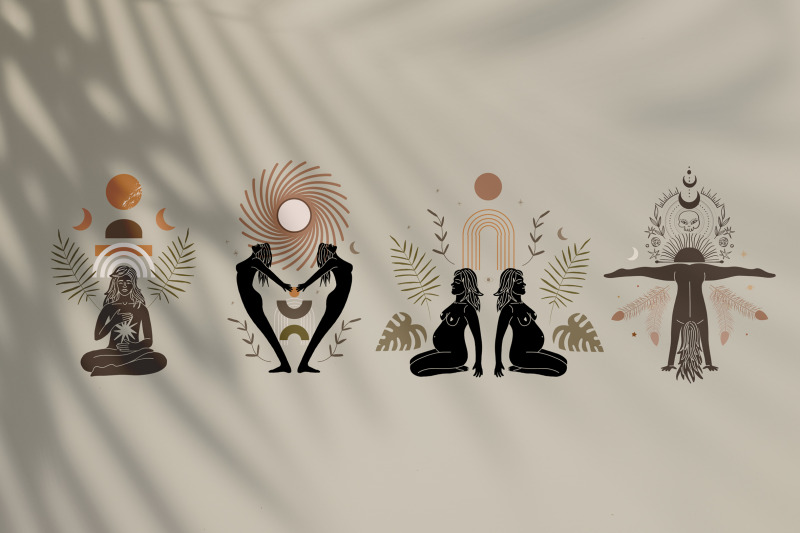 feminine-energy-silhouettes-desert-and-space