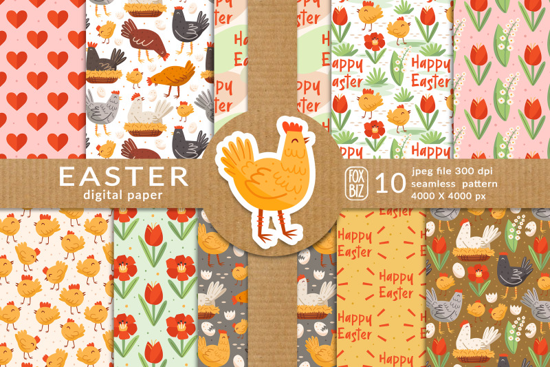 easter-digital-paper-seamless-pattern-happy-easter