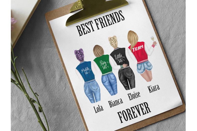 best-friends-clipart-collage-jackets-girls-fashion-girls
