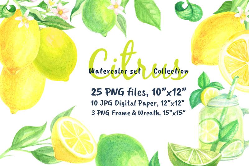 watercolor-set-lemonade-citrus-graphics