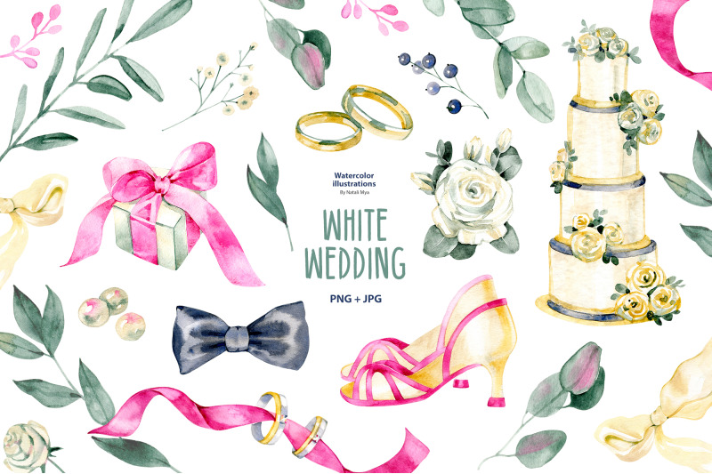 watercolor-white-wedding-clipart