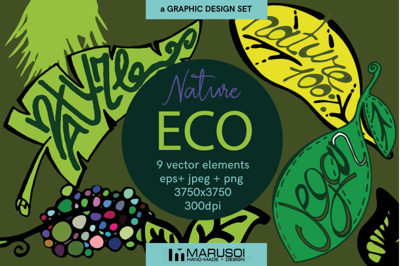 eco-nature-vector