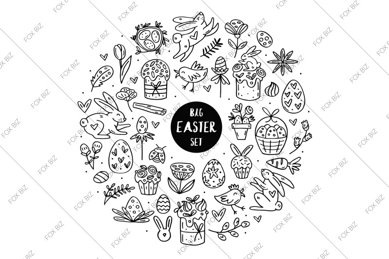 easter-chicks-digital-cliparts-elements-stickers