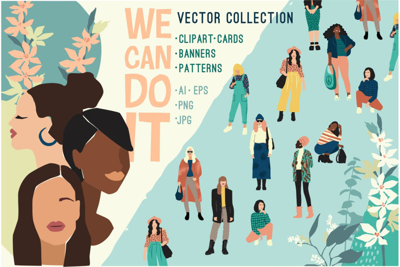we-can-do-it-vector-collection