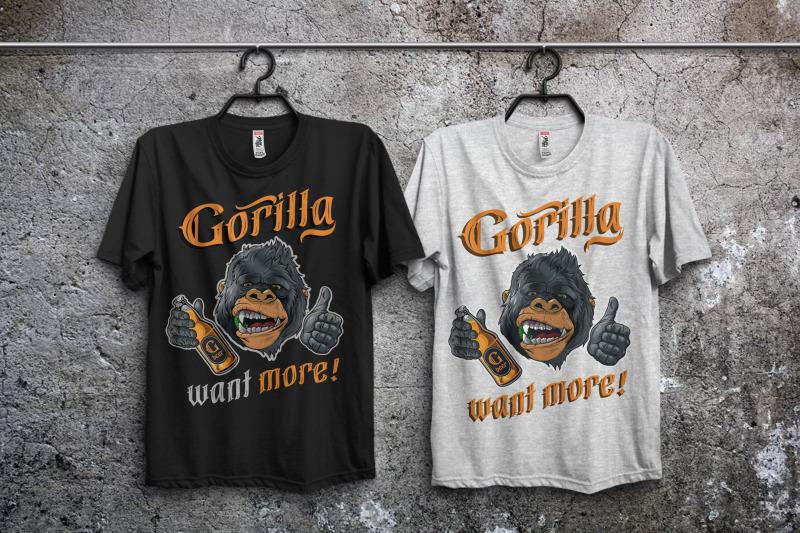 gorilla-beer-gothic-typeface