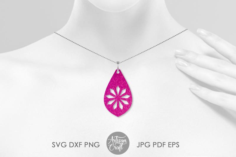 teardrop-earring-template-svg