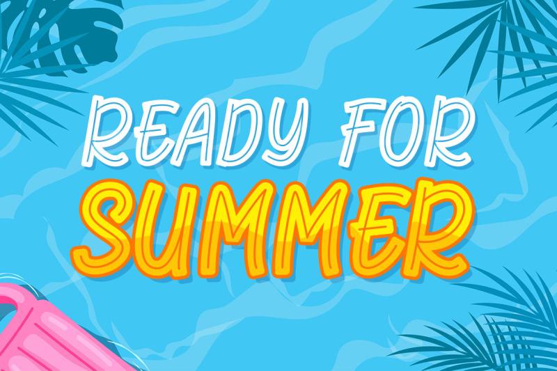 florida-summer-playful-display-font