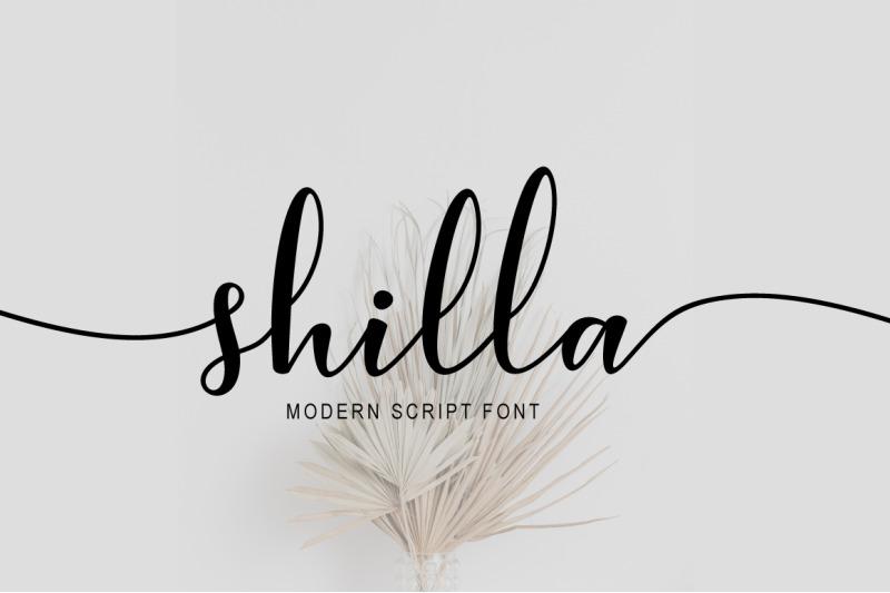shilla-script