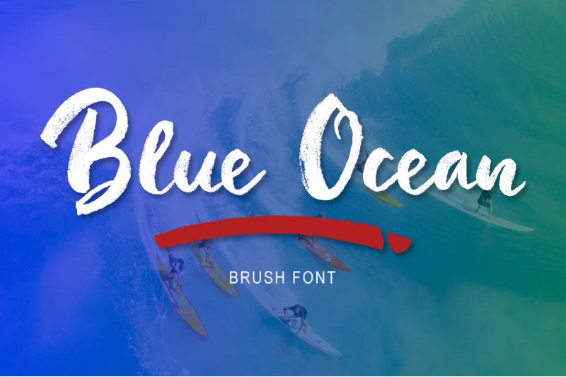 blue-ocean-brush