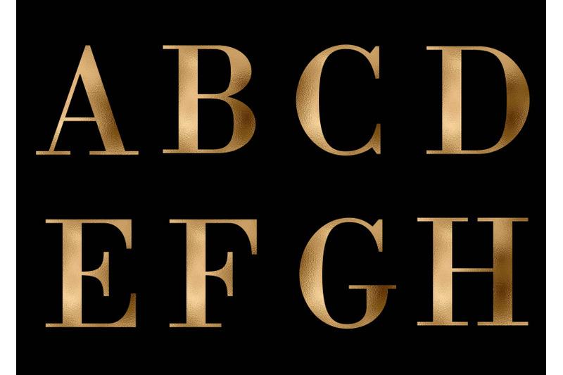 gold-alphabet-gold