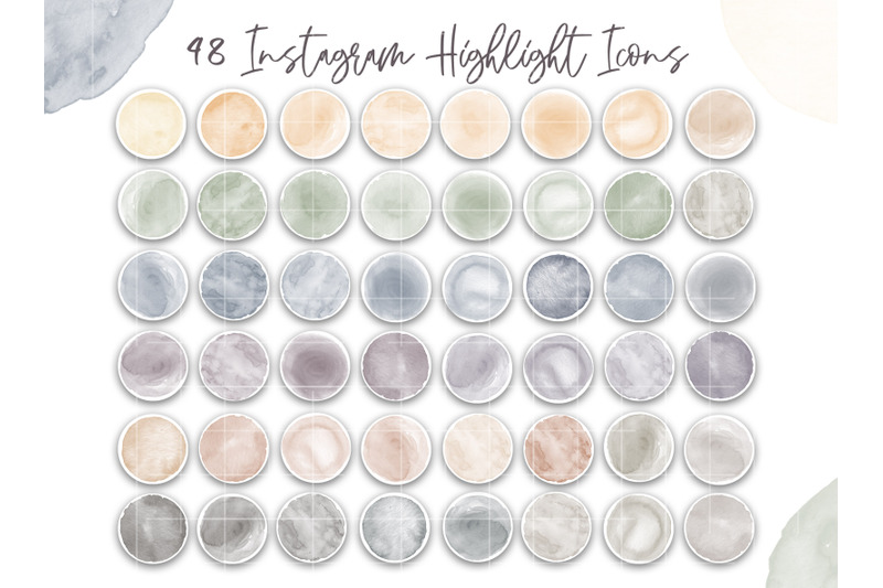 watercolor-highlight-covers-modern-instagram-icons-neutral-muted-color