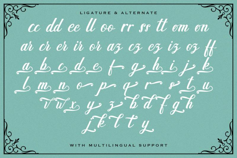 madena-parlling-bold-script-font