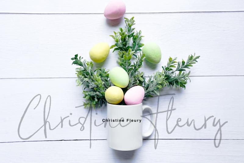 colorful-easter-eggs-mug-flat-lay-mockup