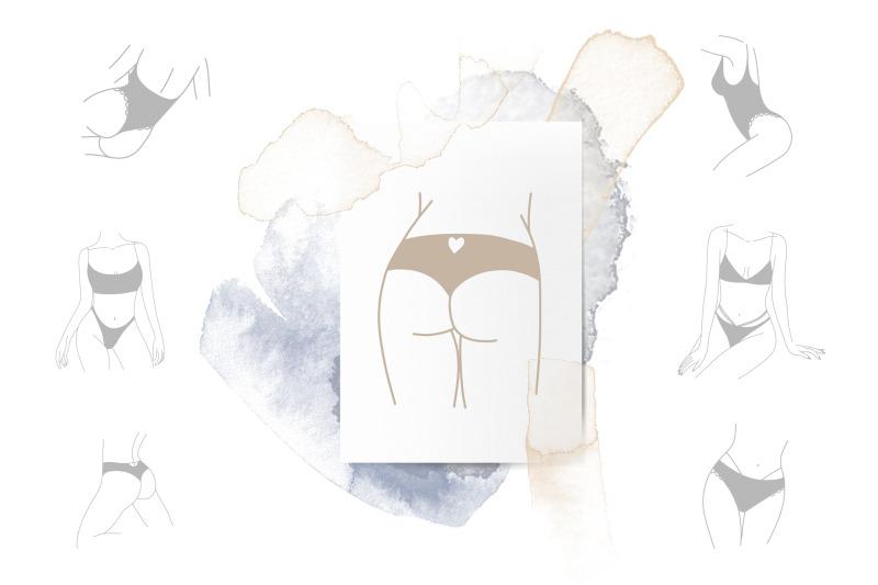 female-body-linear-logo