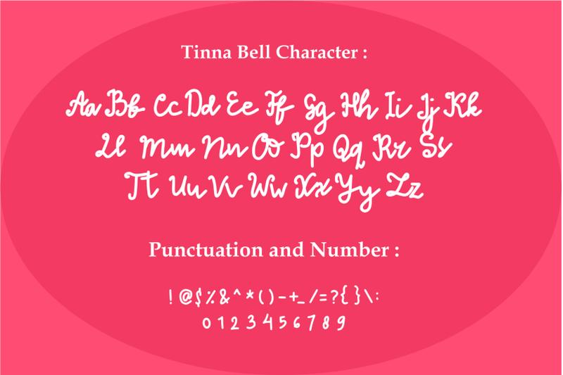 tinna-bell-bold-script-font