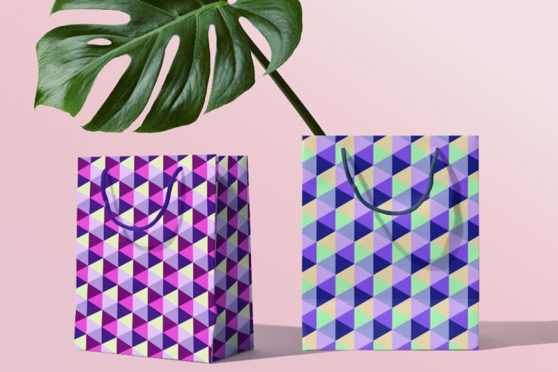 set-of-geometric-patterns