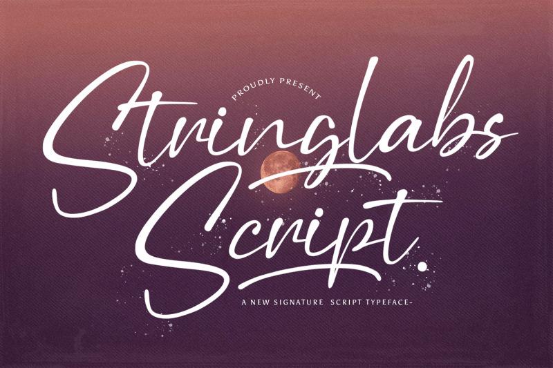 stringlabs-script-handwritten-font