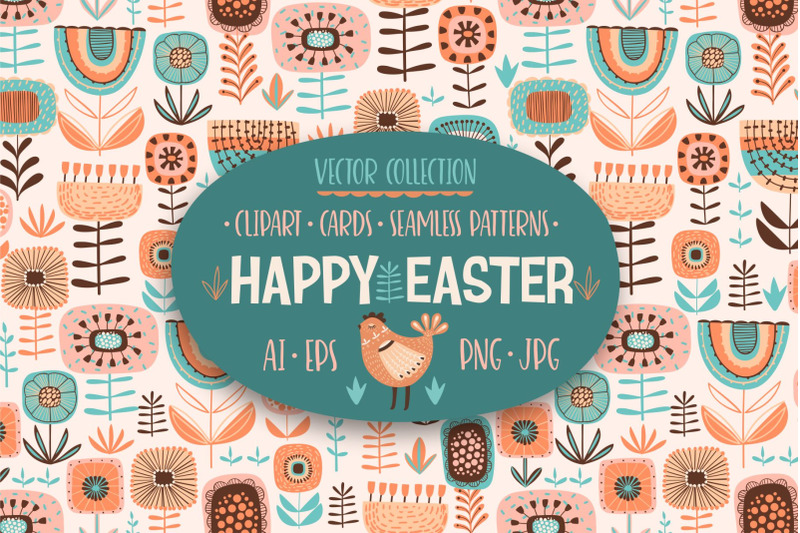 happy-easter-vector-collection