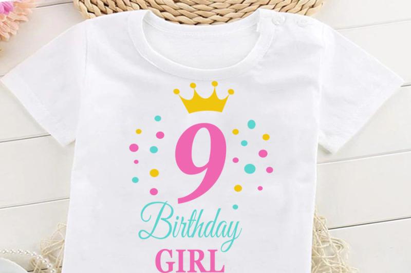 birthday-girl-svg-birthday-princess-svg-9-th-birthday-svg-b-day-gir