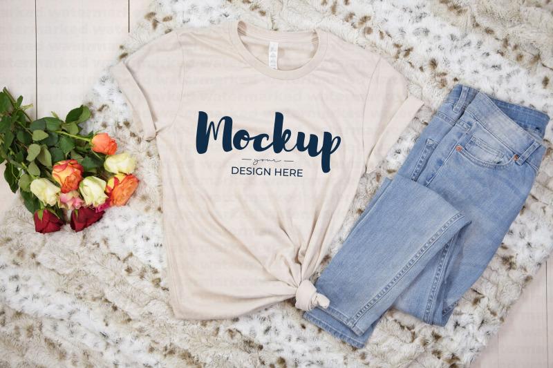 Download Valentine T-Shirt Mockup Free Mockups