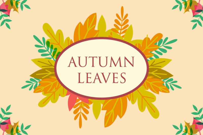 autumn-floral-elements-frame-background