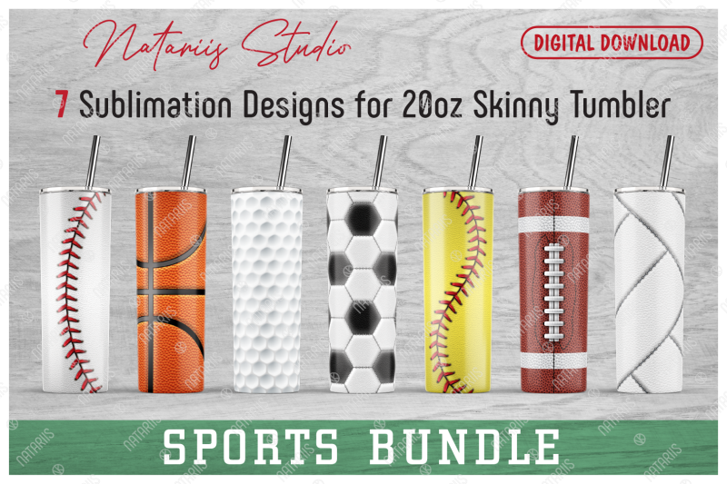 7-realistic-sports-patterns-for-20oz-skinny-tumbler